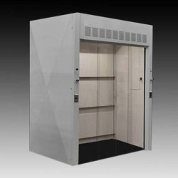 6' Wide x 4' Deep Walk-In Fume Hood (NLS-607)