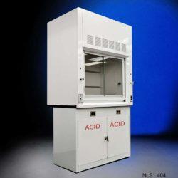 4' Fisher American Lab Fume Hood w/ Acid Base Cabinet (NLS-404)