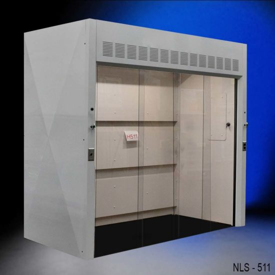 8' Wide x 4' Deep American Scientific Walk-In Fume Hood (NLS-H511)