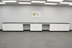 24' Fisher American Laboratory Cabinets w/ Desks