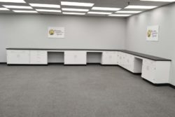 22' x 15' Fisher American Cabinets w/ Benches