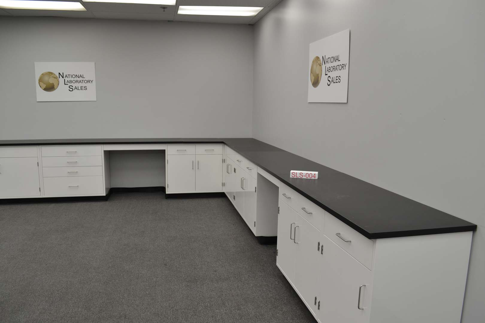 17 X 15 Fisher American Base Laboratory Cabinets With