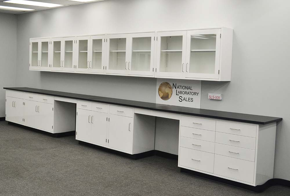 22 Base 17 Wall Laboratory Furniture Cabinets Case