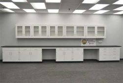 22' Base x 17' Wall Cabinets w/ Workbenches