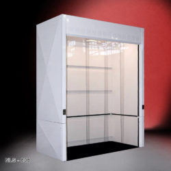 8' Wide x 4' Deep x 10' Tall Walk-In Fume Hood