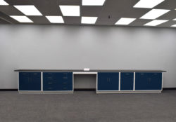 19' Fisher American Base Laboratory Cabinets (SLS 024)