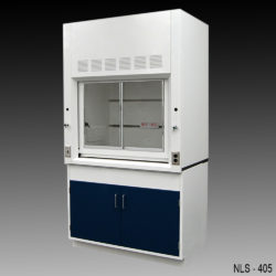 4' Fisher American Fume Hood w/ General Storage Cabinet (NLS-405)