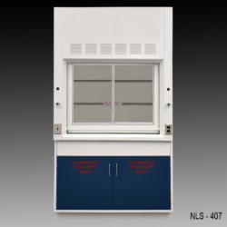 4' Fume Hood w/ Flammable Storage (NLS-407)