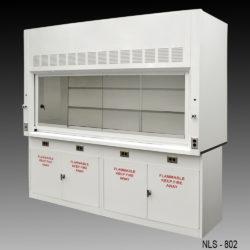 8' Fume Hood w/ Flammable Storage Cabinets (NLS-802)