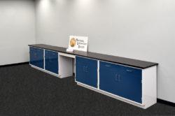 17' Fisher American Laboratory Cabinets