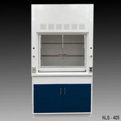 4' Fisher American Fume Hood w/ General Storage Cabinet (NLS-405)