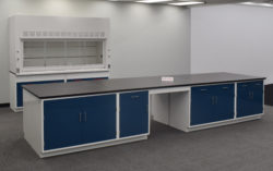 16' x 4' Fisher American Laboratory Island Cabinet (SLS 016)