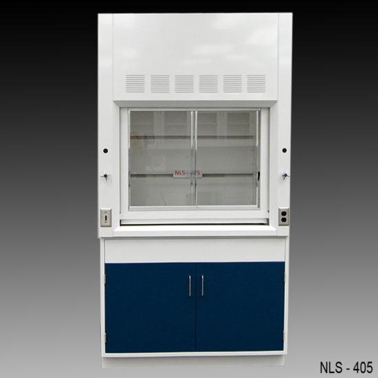4' Fisher American Laboratory Fume Hood w/ General Storage Cabinet (NLS-405)