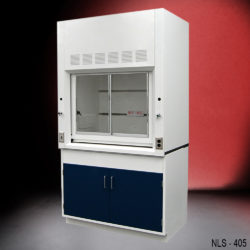 4′ Fisher American Fume Hood With General Cabinets (NLS-405)
