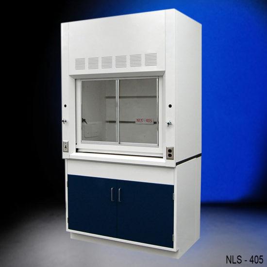 4′ Fisher American Fume Hood w/ General Cabinets (NLS-405)