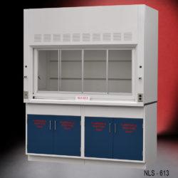 6' Laboratory Fume Hood w/ Flammable Cabinets (NLS-613)