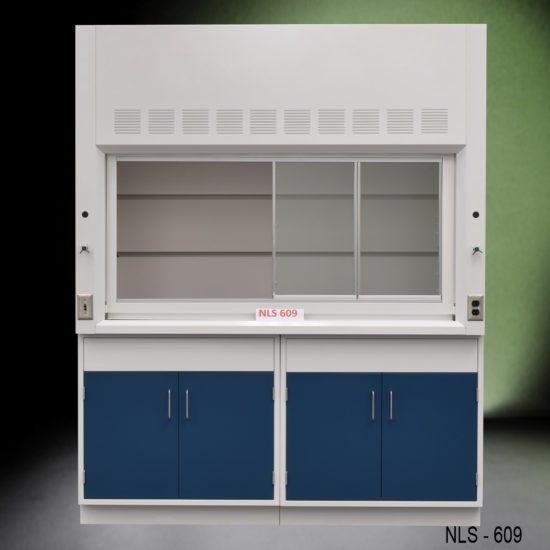 6' Chemical Fume Hood w/ Epoxy Resin Countertops (NLS-609)