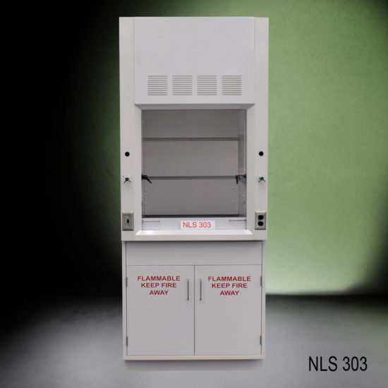 3' Fisher American Fume Hood w/ Flammable Storage (NLS-303)