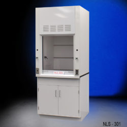 3' Chemical Fume Hood w/ General Cabinet (NLS-301)