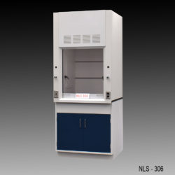 3' Chemical Fume Hood w/ General Cabinet (NLS-306)
