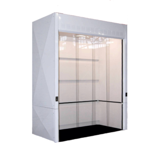 floor mounted fume hood