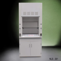 3' Chemical Fume Hood w/ General Storage Cabinet (NLS-301)