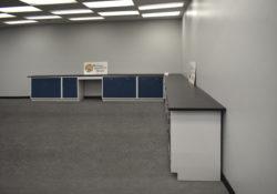 18' x 19' Fisher American Cabinets w/ Desks
